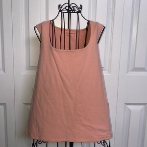 Coldwater Creek Size XL Peach Colored Tank Top